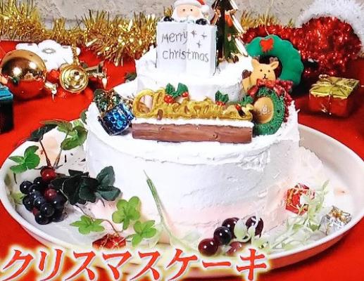 Xmas cake made by clay